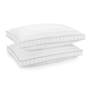 Alwyn Home 400 Thread Count Bed Gel Fiber Pillow (Set of 2)