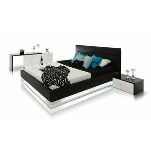 Elettra Modern Upholstered Platform Bed