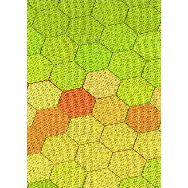 East Urban Home Geometric Wool Yellow Area Rug Wayfair