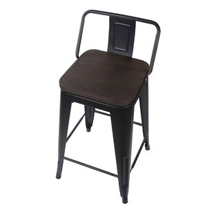 Compare Alric 24 Bar Stool (Set of 4) by 17 Stories Reviews (2019) & Buyer's Guide