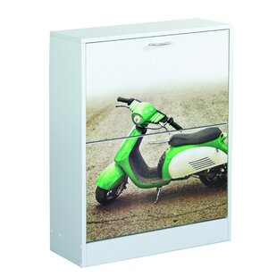 Motorbike Shoe Cabinet By Rebrilliant