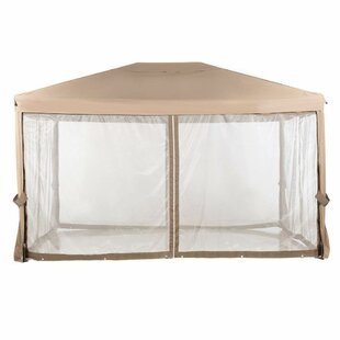 13 Ft. W x 10 Ft. D Steel Gazebo by Abba Patio