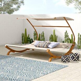 Double Chaise With Canopy Wayfair