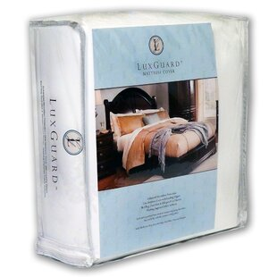 Sleep Safe Bedding LuxGuard Allergen Bed Bug and Dust Mite Zip Cover Mattress Protector
