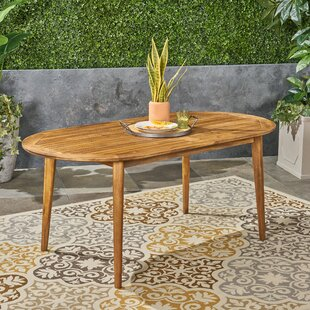 Meriam Solid Wood Dining Table by George Oliver