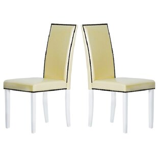 Warehouse of Tiffany Blazing Parsons Chair (Set of 2)