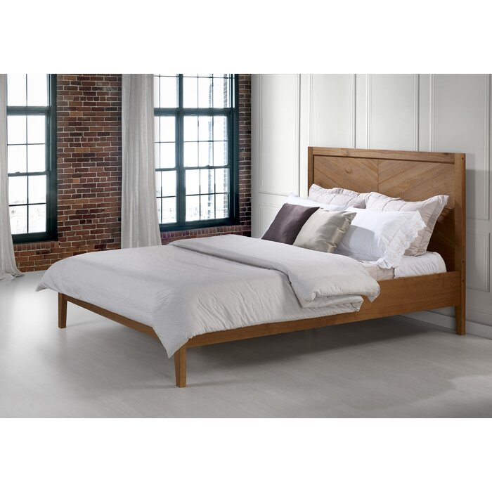 timeless design 9d775 34179 Steve Solid Wood Queen Platform Bed