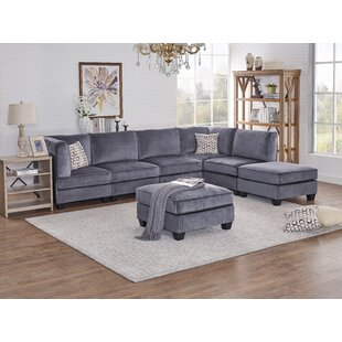 Ivy Bronx Marcie Modular Sectional with O..