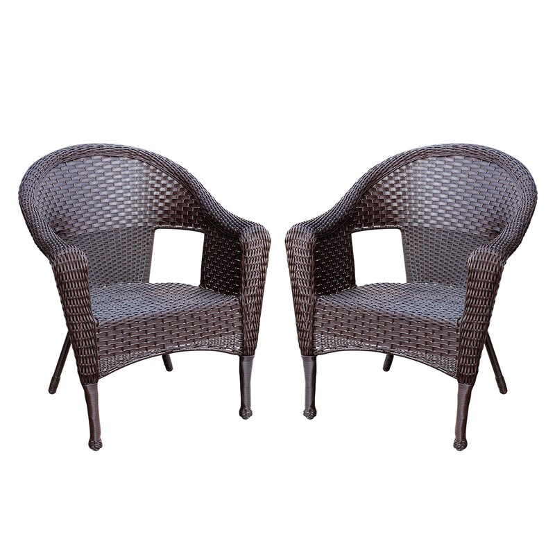 Superieur Kentwood Resin Wicker Patio Chair Without Cushion