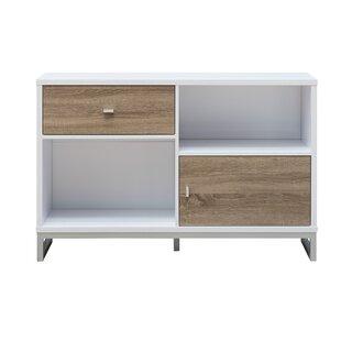 Aubree Modern Storage 1 Door Accent Cabinet by Ebern Designs