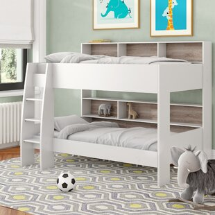 Lena European Single Bunk Bed By Harriet Bee