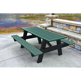 Winthrop Plastic/Resin Picnic Table by Fr..