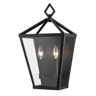 Ella 2-Light Outdoor Flush Mount