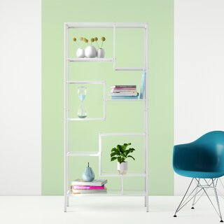 Alden Geometric Bookcase by Hashtag Home SKU:CC597431 Order