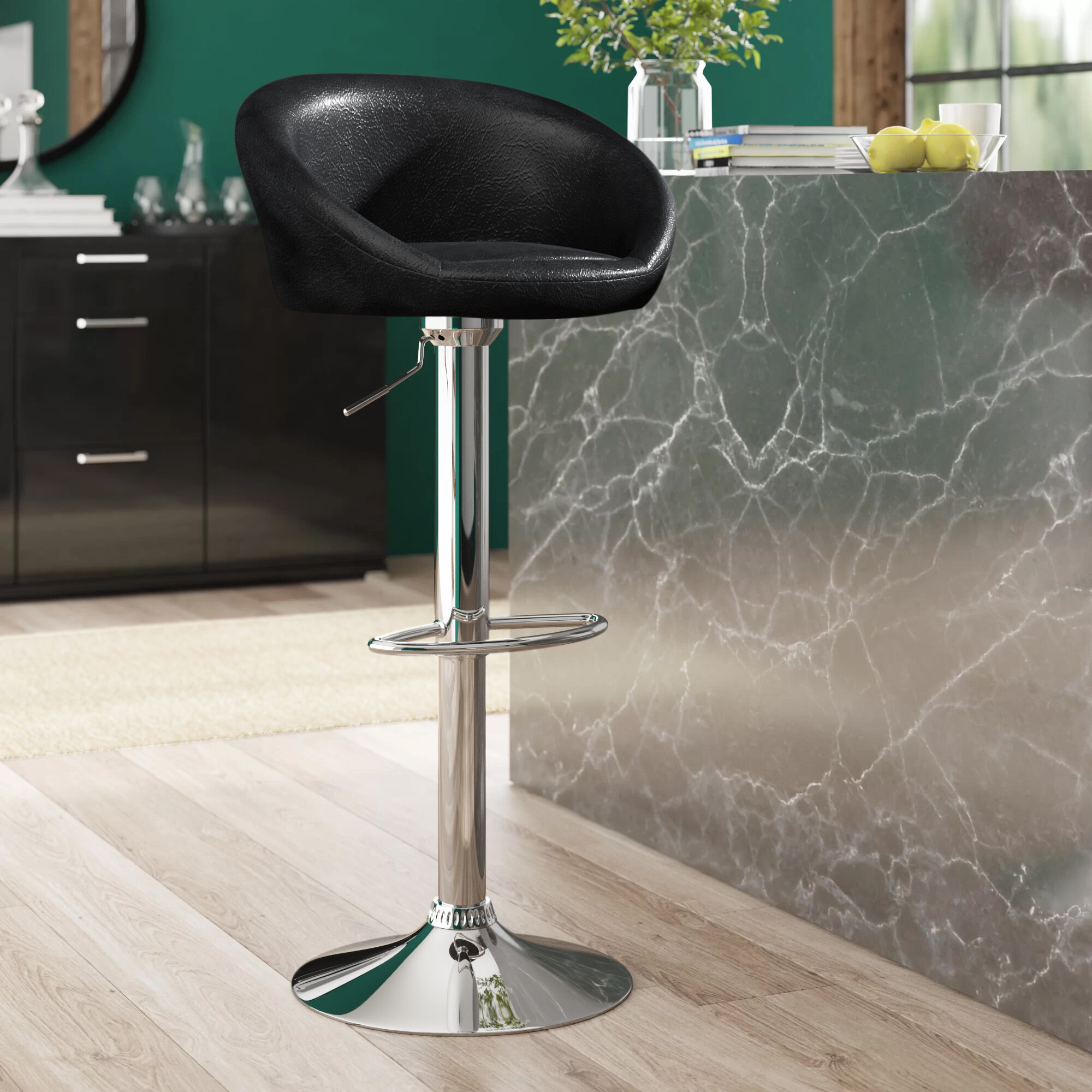 Amazing Venus Height Adjustable Swivel Bar Stool Beatyapartments Chair Design Images Beatyapartmentscom