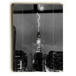 U0027New York City Lightning Strikeu0027 Wall Art