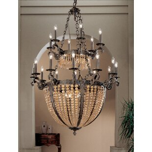 Classic Lighting Merlot 27-Light Empire Chandelier