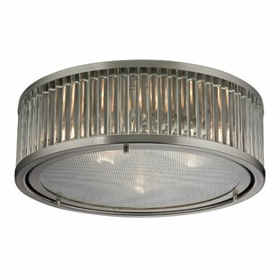 Goff 3-Light Flush Mount b..