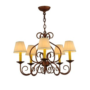 Meyda Tiffany Jenna 5-Light Shaded Chandelier