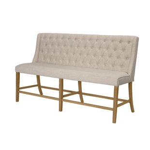 Lea Counter Height Upholstered Bench by Gracie Oaks