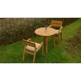 Donner Luxurious 3 Piece Teak Bistro Set