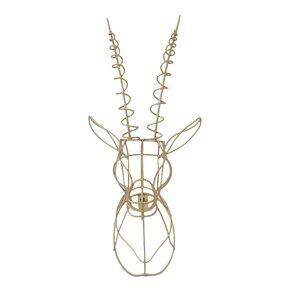 gazelle wire wall dcor