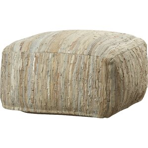 Esther Leather Pouf