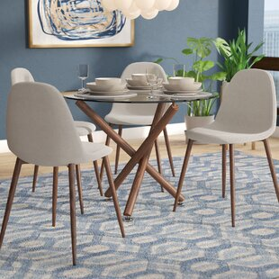 Jade Modern 5 Piece Dining Set by Langley Street New Design