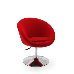 Adjustable Leisure Swivel Barrel Chair by Ceets