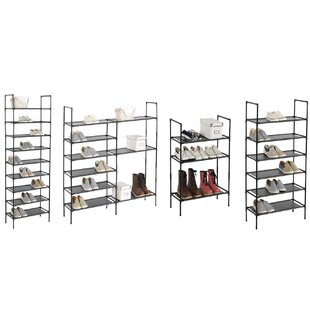 Best Reviews 36 Pair Shoe Rack By Rebrilliant