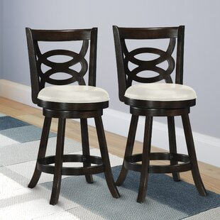 Alamo 24 Swivel Bar Stool (Set Of 2) by DarHome Co #1