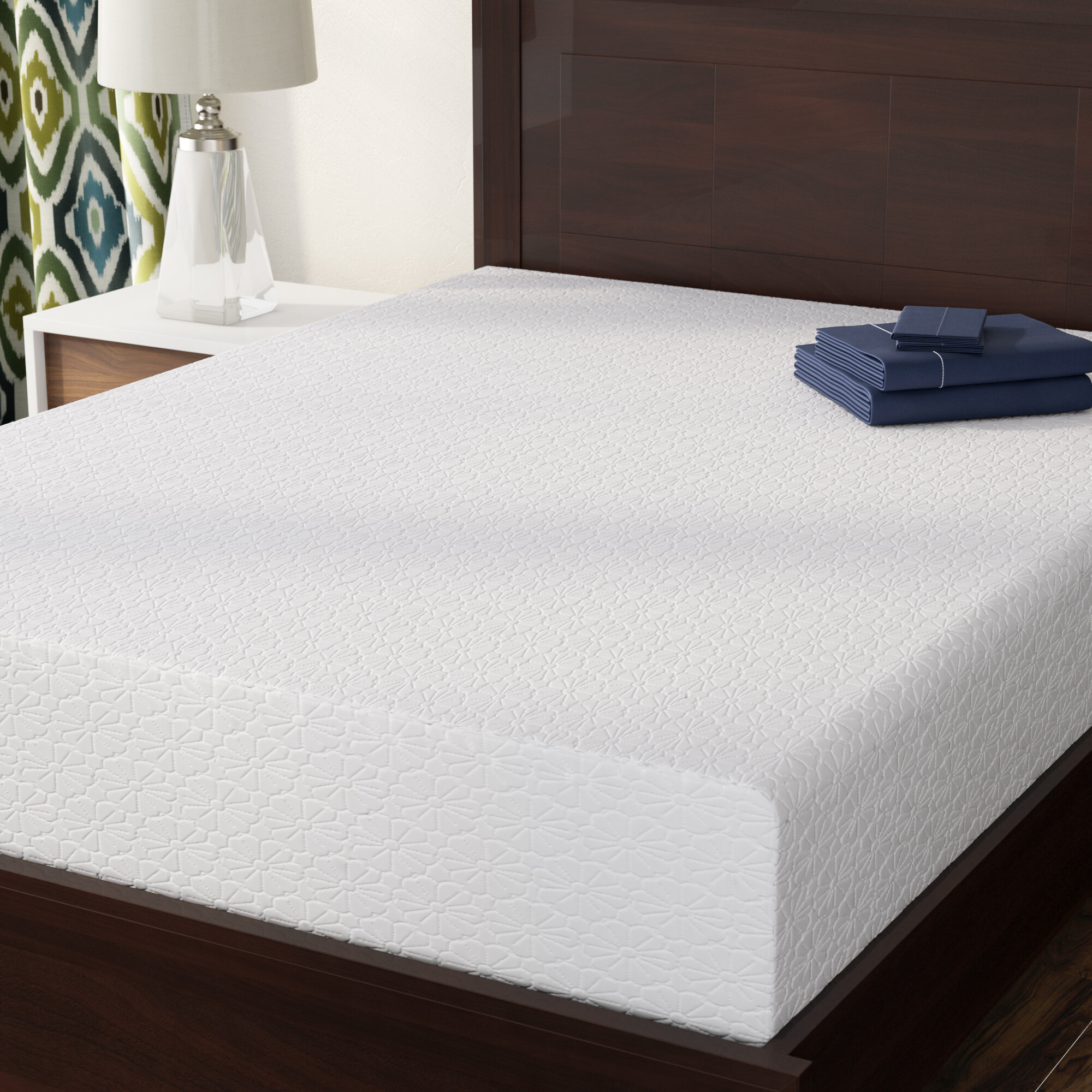 memory gel pdp main mattresses reviews wayfair mattress furniture sleep joss firm foam