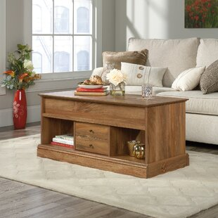 Schuh Lift Top Floor Shelf Coffee Table With Storage By Union Rustic