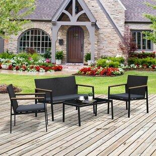 Nantan 4 Seater Sofa Set By Sol 72 Outdoor