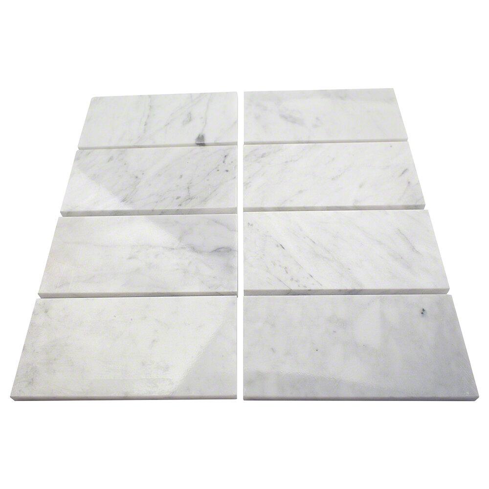 Splashback Tile 3 X 6 Marble Subway Tile In Crema Marfil Wayfair