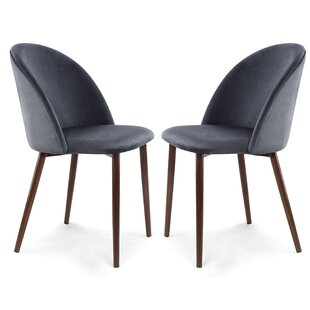 Aaden Upholstered Dining Chair (Set of 2) Mercer41