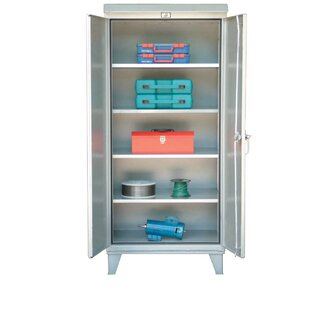 79.75H x 36W x 24D 2 Door Storage Cabinet by Strong Hold Products
