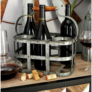 Cole & Grey 6 Bottle Tabletop Wine Rack
