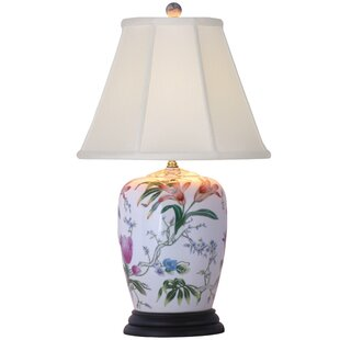 Porcelain Lily 25 Table Lamp
