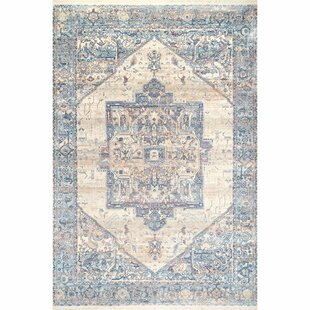 Heer Light Blue Area Rug by World Menagerie
