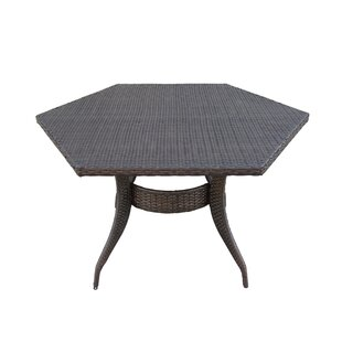 Brayden Studio Shanika Wicker Dining Table