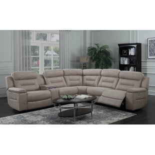 Darby Home Co Escobar Reclining Sectional