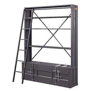Ozuna Metal Standard Bookcase By 17 Stories