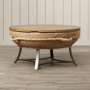 Dahlia Round Cocktail Table by Bay Isle Home