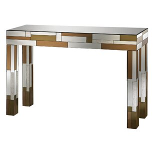 Mercer41 Antigore Geometric Console Table
