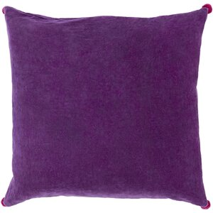 Yvonne Poms Velvet Throw Pillow Cover