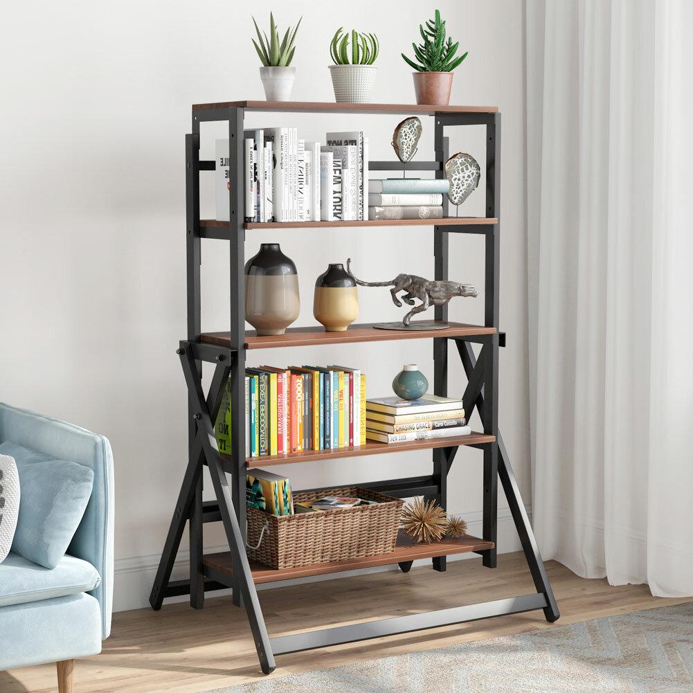 17 Stories 5 Tier Bookshelf Wayfair Ca