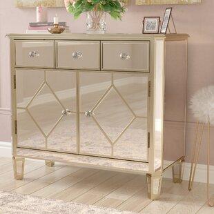 Sarina Mirrored 5 Drawer Cabin..