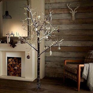Warm White Twig Lighted Trees & Branches By The Seasonal Aisle