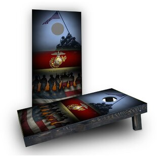 Custom Cornhole Boards United States Marine Corps Cornhole Boards (Set of 2)